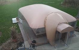 swim dome cover