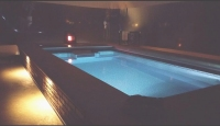 spa room at night romantic