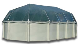 Vinyl Above-Ground Pool Dome Cover