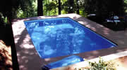 Inground pool without Sun Dome