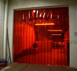 Superb Quality, American Made Vinyl/PVC Strip Doors At Discount Prices!