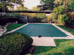 Large rectangular pool cover