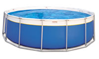 Soft-Sided (bladder) Above Ground Swimming Pool